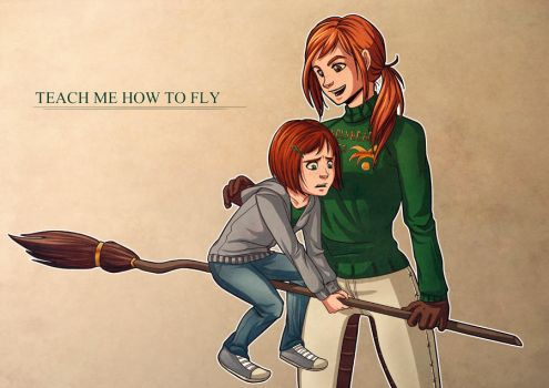 HP - Teach Me How To Fly by dhauber