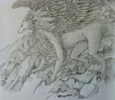 .:The.Feathered.Dragon:. by hyucaze