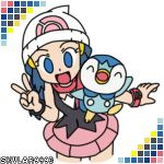 Dawn and Piplup II by skylar9993