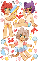 {C} OT3 tile 2- A day at the beach by Pajuxi