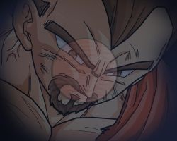 King Vegeta's nightmare by alessandelpho