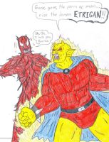 Etrigan vs Carnage by Jose-Ramiro