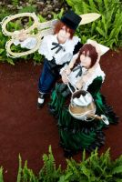 ROZEN MAIDEN TWINS by AFSEMsoul