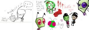 iscribble .w. by Minkerdoodle