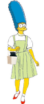 Marge Simpson as Dorothy Gale by darthraner83