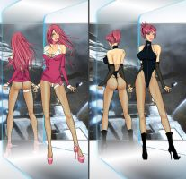 Milla Automata V9 Outfits 5 by LessRuth
