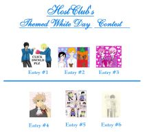 WhiteDay Contest Enties 09 by HostClub