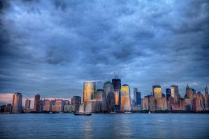 New Jersey View of Manhattan 2 by shhhhh-art
