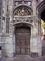 Cathedral gate door 2 by jdbartlett