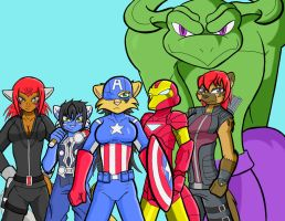 Avengers Assemble! by neyola298