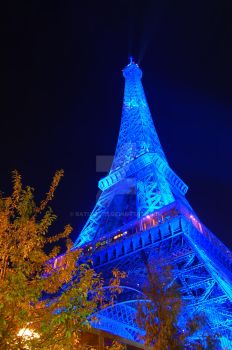 Eiffel Blue 1 by batusai316