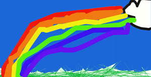 Rainbow in the Pretty Sky by taylorswift135