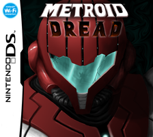 Metroid Dread box art by Purple-Plasmid