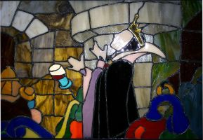 Stained Glass Queen by Richard67915