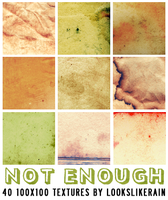 Not Enough by lookslikerain