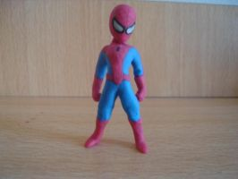 spiderman en plastilina by fsalkatras