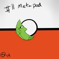 Metapod by Laxmortaxbella