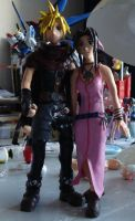 cloud aerith figure 2 by Spartan112