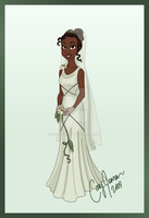 Tiana's Wedding Dress by Cor104