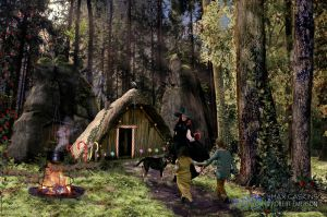 Hansel and Gretel by robhas1left