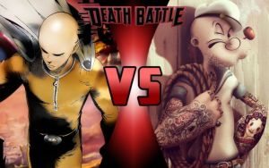DEATH BATTLE: Saitama vs Popeye by G-Odzilla