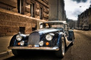 Morgan Plus 8 by wulfman65