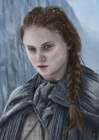 Sansa Stark - Game of thrones by Russtiel