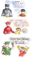 DCU - different upbringing by Levy-Comics