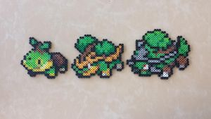 Turtwig Family - PB Sprite Set by MaddogsCreations