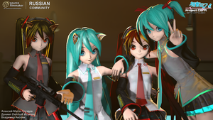 Miku Hatsune Enhanced pack V 0.51 by Gruzdev47