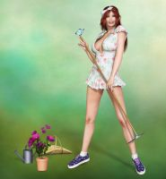 Our New Gardener by Roys-Art