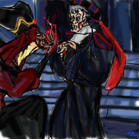 Jafar Meets Judge Frollo by IsangsimaronBatis