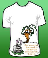 Evil Rabbit Shirt by Mymakao