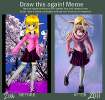 Draw This Again Meme by Noglogtog