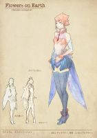 water color character by Readman