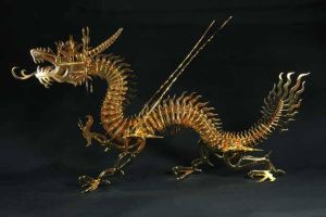 Chinese Dragon by kunstschmied