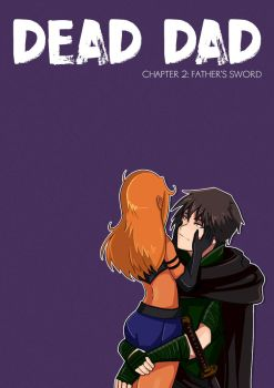 Dead Dad Chapter 2 Cover by niziolek