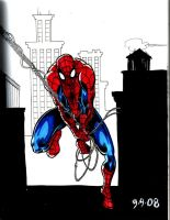 9-9 Spidey colored by hdub7
