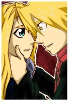 FMA-Earth,Wind,Water and Fire by BrokenRomance3