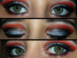 Disney Vilain Cruela Devil Make Up Eyes by Toxic-Sway