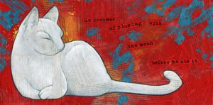 White Cat II by ursulav