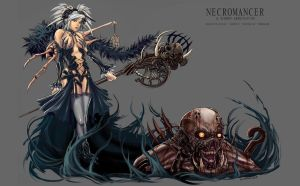 Necromancer-Summon Abomination by LoneWolf64