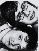 Flight of the Conchords by lilsarabear04