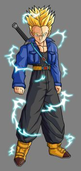 Trunks SSJ2 by hsvhrt