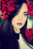 Red Flowers by alexhascoolpictures