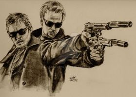 The Boondock Saints II - All Saints Day by AmyCrane
