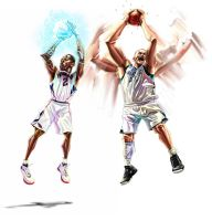 NBA stars5 by A-BB