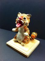Sculpey Tiger by bigcas61