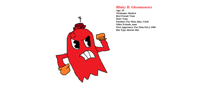 Blinky H. Ghostmonster by PacandPinky101