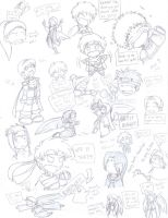 Fire Emblem Doodle Page by Hintojin